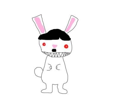 Hitler Bunny by HolyWatterson