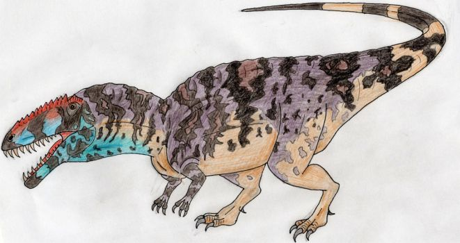 King of the Early Cretaceous by WDGHK