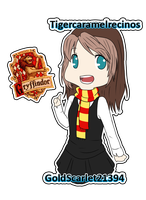 Pottermore ID for Tigercaramelrecinos by ayochan