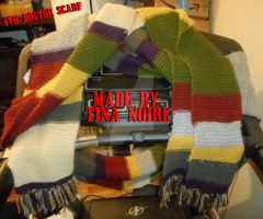 4th Doctor Scarf by TNoire