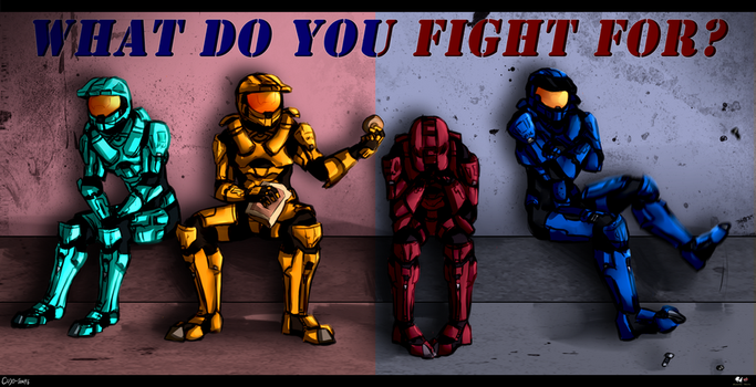 ::What Do You Fight For?:: by KareIchi