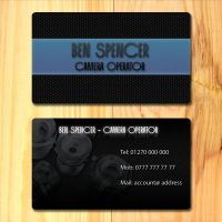 Ben's business cards by SolidSilver