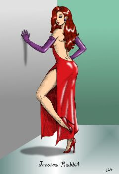 Jessica Rabbit - Colour by CCGTheArtist