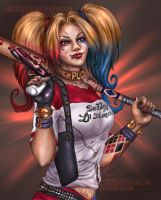Harley Quinn- Suicide Squad by ZazzyCreates