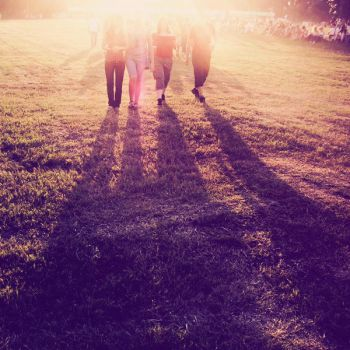 walking on sunshine. by freckledmystery