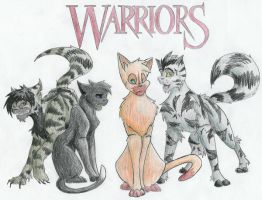 Warriors Into the Wild by Shimmerpaw