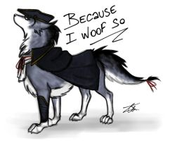 Haytham Wolf by NienorGreenfield
