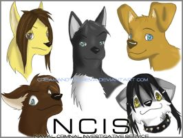 NCIS Dogs by creamandtails4eva