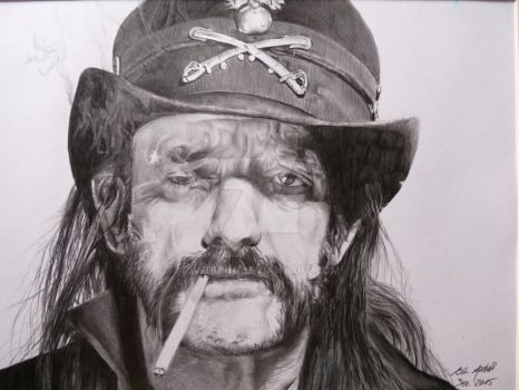 Lemmy of Motoerhead by Wito666