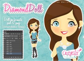 Diamond Doll by imabelopez