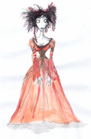 Mrs. Nellie  Lovett by DemonCartoonist