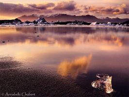 Glacial Lake by Annabelle-Chabert