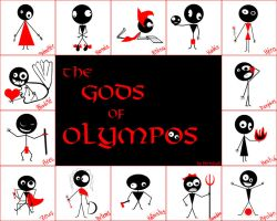 The Gods of Olympos by petaa