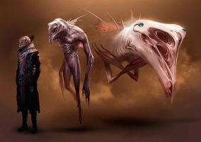 Dune redesign: guild navigator stages by SimonDubuc