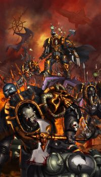 WH40K: Chaos Terminators by jeffszhang
