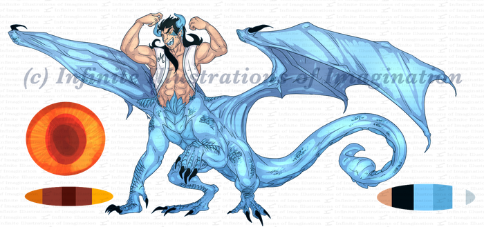 COMMISSION Dracul Reference Sheet COMMISSION by I3-byUsagi