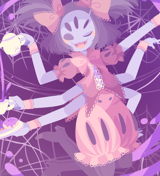 Miss Muffet by Yatsunote