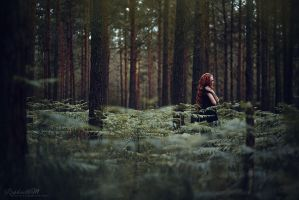 And She Wanders... by RaphaelleM