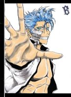 Grimmjow-bleach cover-coloured by Shadow611