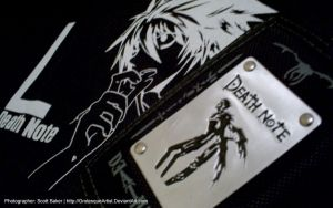 Death Note - 1280x800 by GrotesqueArtist