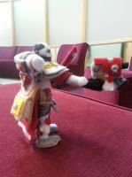 Sister of Battle Plushie side view by Funk-Golem