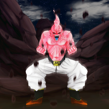 Majin Buu by Lorelin15