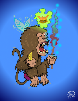 Baboon Faerie by UncleScooter