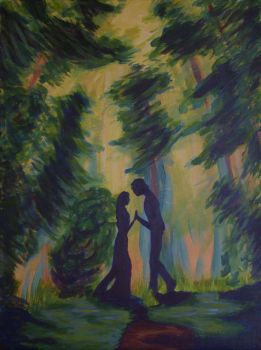 Romantic Forest by DuelingSpectra