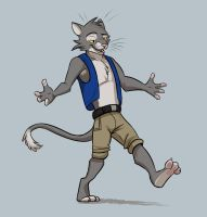 Swagger Cat by Temiree