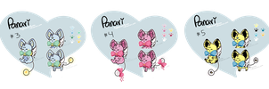 [ 2/3 Open ] Panari Batch #1 (View Full-size ) by SquiggleCakes