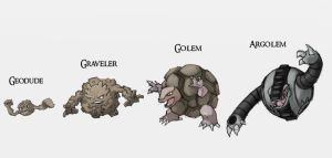 The Golems by Either-Art