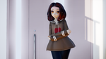 MMD   Ray Cast Shader   Test by Anjalea