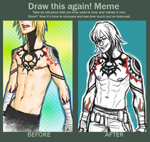 Draw this again - Gunji by Taru-Sama