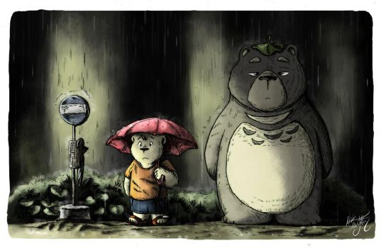 My Neighbor Totoro Roar: Explore Totoroparody On DeviantArt