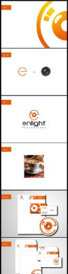 Enlaight Corporate Identity by omarhamdy