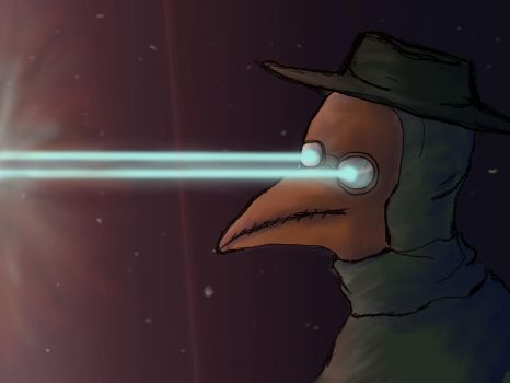 The Great Space Plague Doctor by b-canis