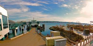 Bremerton Ferry by Mackingster