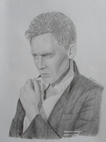 Portrait of Tom Hiddleston by Nemesis-Eris