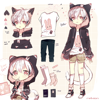 [AUCTION*CLOSED]Lineheart*2 by Relxion-kun
