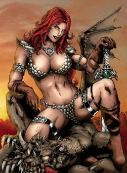 Red Sonja 02 by Seabra