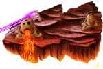 Bestiary Project - Magma Tiki by Retro-Death