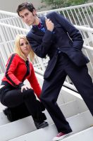 The Doctor and Rose Tyler: 2 by popecerebus