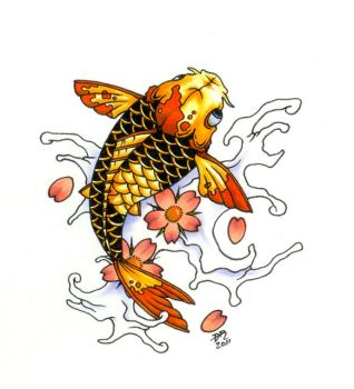 Traditional Koi 3 by DanielRound