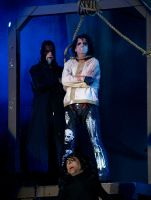 Alice Cooper in the Noose by budluvinpreacher