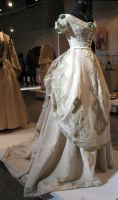 White Victorian Dress Stock by Avestra-Stock