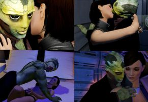(Video) Thane and Shepard being alive by Ktr-Liane07
