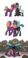 MLP - Cotton 'n Greg by merrypaws