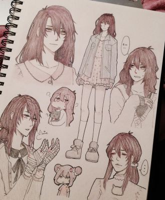 hnnngggg sketches by xullet