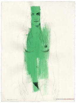 Green Woman by reubennegron