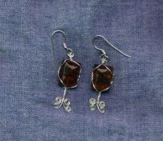 Jennie's Chrismas earrings by Attackfish